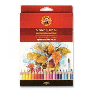 Акварельные карандаши Koh-i-noor Mondeluz 12цв., 24 цв