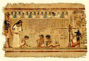 Оформление папирусов