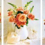 Триптих Цветы любви 50х80