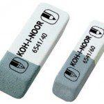 Комбинированный ластик для чернил, туши Koh-i-noor