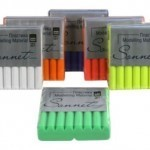Пластика цветная флуоресцентная в брусках «Сонет» 56 г