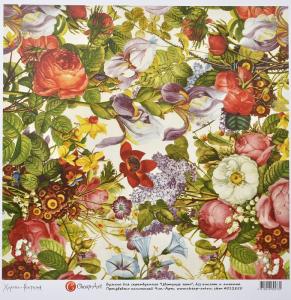 бумага для скрапбукинга 3030 Цветущее Лето