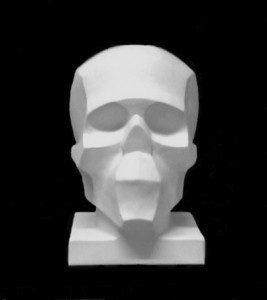 Обрубовка черепа по Баммесу гипс