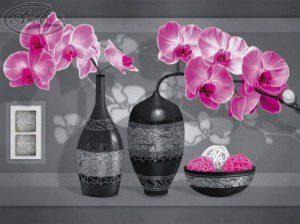 Репродукция Загадочные орхидеи 30х40