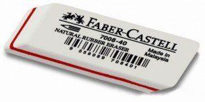Ластик каучуковый 7008-40 Faber-Castell