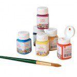 Акриловые краски по стеклу и керамике в банках, 50мл, Decola